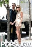 Kate Bosworth and Michael Polish enjoyed the sunshine during a walk in NYC.