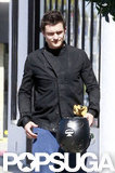 Orlando Bloom was back in LA.