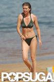 Ellen Pompeo pictured in a bikini in Hawaii.