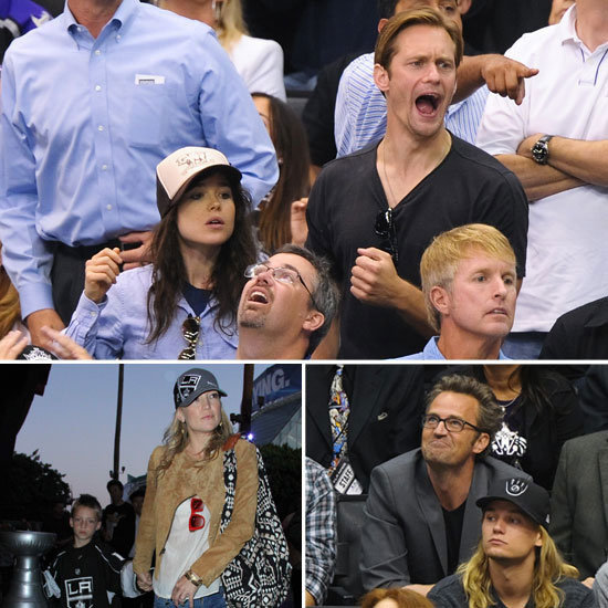 Kate Hudson, Alexander Skarsgard, and More Show Their LA Kings Pride