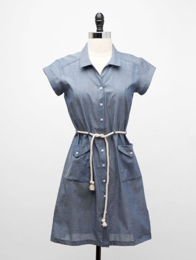 This sweet denim dress would be great for a bike ride or a day at the farmers market. Wear it with wedges or slip-on sneakers. Dear Creatures Cotton Dress ($84)