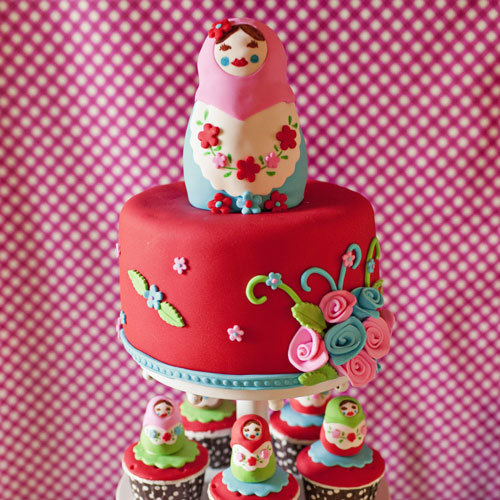 Matryoshka Doll Birthday Party