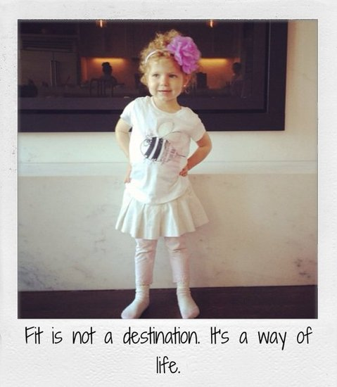 Fit is not a destination. It's a way of life.