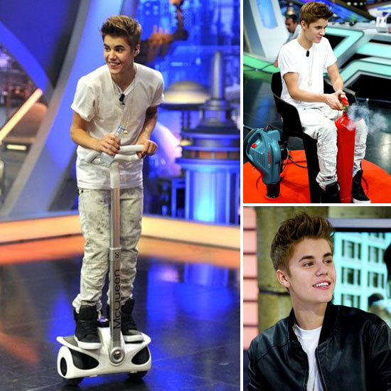 Justin Bieber Visits the Always Silly Spanish Show El Hormiguero