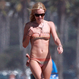 Celebrities in Bandeau Bikinis
