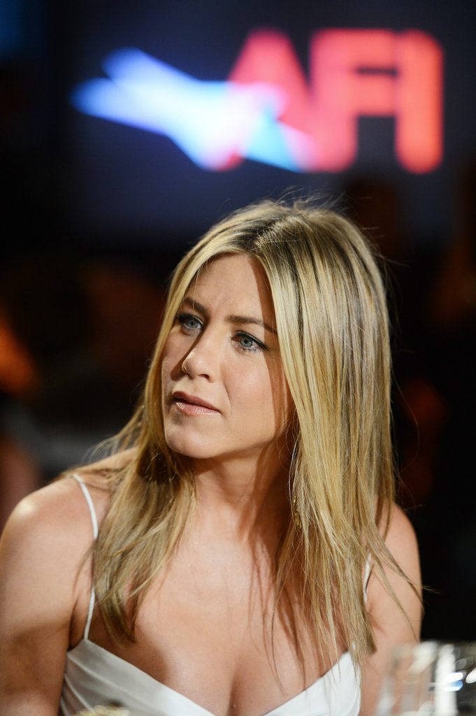 Jennifer Aniston was in LA for an AFI gala.