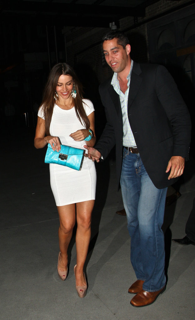 Sofia Vergara and Nick Loeb went to dinner.