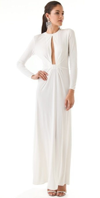 Issa Front Slit Maxi Dress ($775)