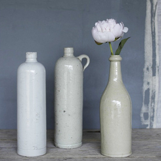 For dads with flower gardens  who still like to keep it tough, this Vintage Stoneware Bottle ($40) would be an elegant way to show off their perfect posies.