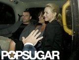 Naomi Watts and Liev Schreiber piled into a car together.