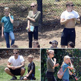 Ryan Phillippe Shows Muscular Abs at Deacon's Game