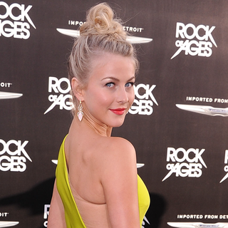 Julianne Hough's Red Carpet Looks From The Rock of Ages Premieres