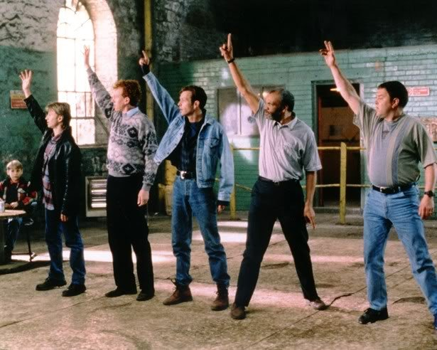 The 1997 film The Full Monty is inspired by Chippendales and follows a group of unemployed men as they decide to do a striptease show to make money.