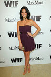 Olivia Munn looked gorgeous in a purple dress at the event in West Hollywood.