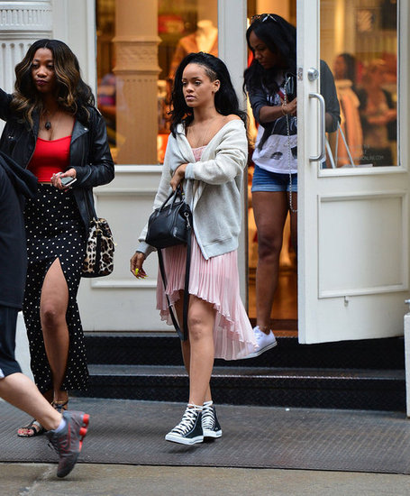 Rihanna shopped in NYC.