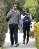 Natalie Portman's husband, Benjamin Millepied, became a dad in June 2011 when son Aleph was born.