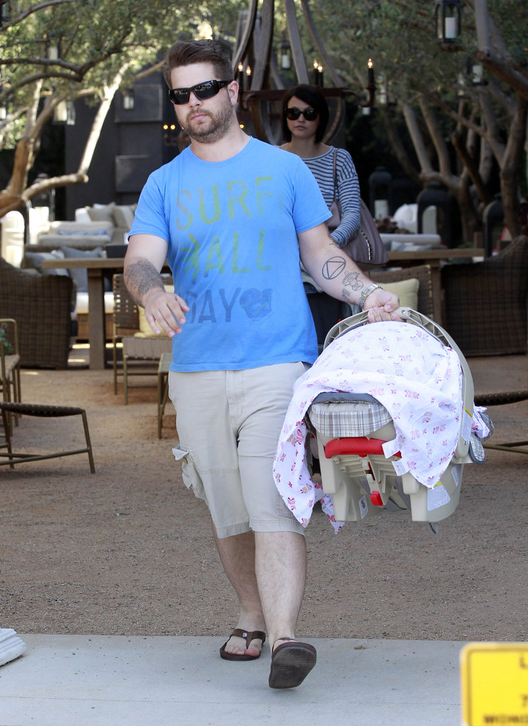 Jack Osbourne welcomed his first child, baby daughter Pearl, in April 2012.