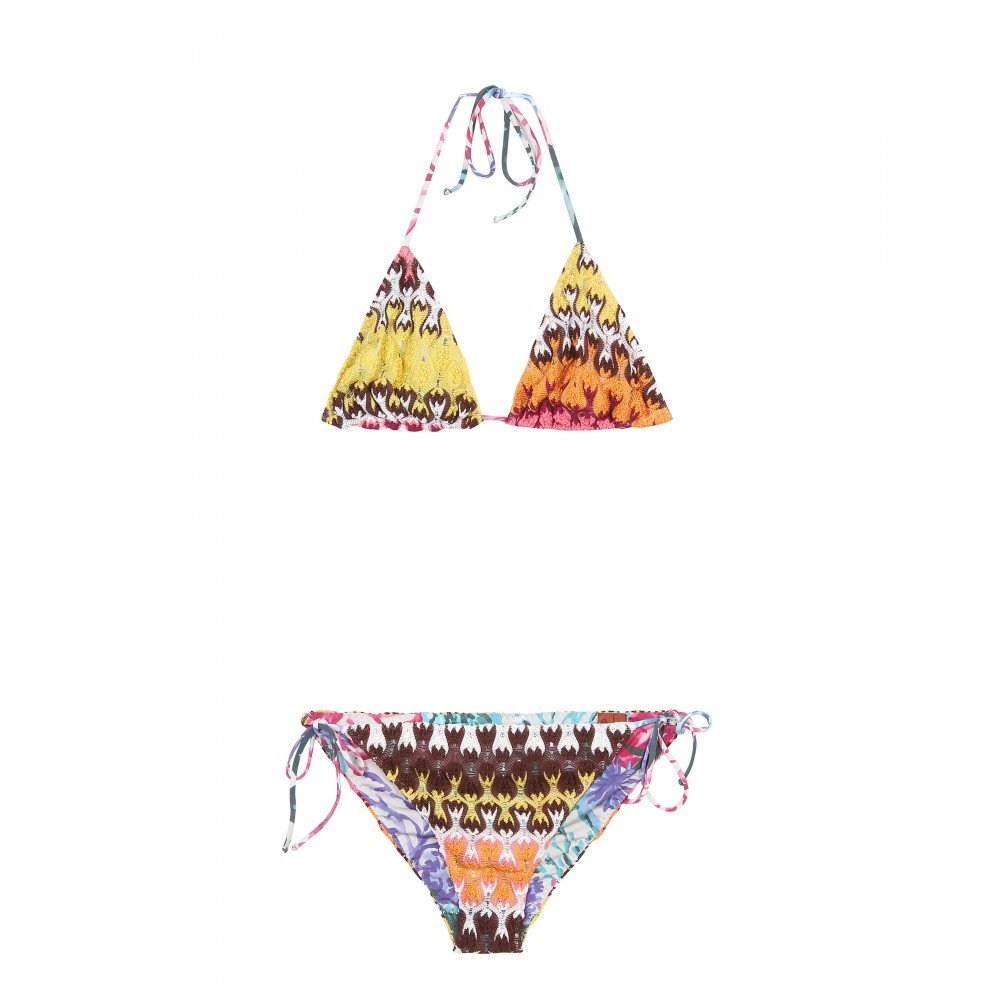 Classic Missoni zigzag styling in a modern, eternally flattering silhouette — and bonus: it's reversible! Missoni Mare Harbin Reversible Bikini ($365)