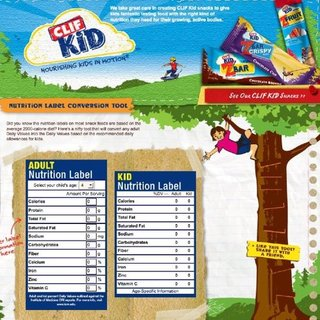 Kids Nutrition Calculator