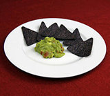 Blue Corn Chips With Guacamole