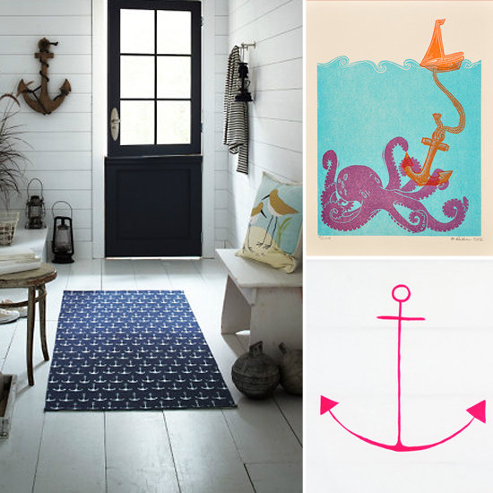 Nautical Anchor Bathroom Decor House Decor Ideas