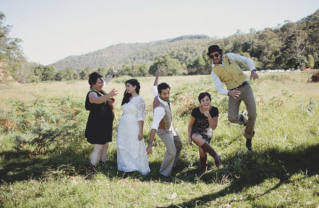 Bridal Party Fun in t