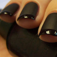 DIY Nail Art: A French Manicure That Fades to Black