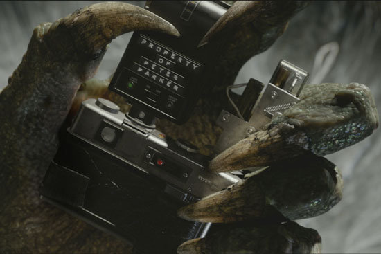 The Lizard in The Amazing Spider-Man.  Photo courtesy of Sony