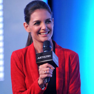 Katie Holmes Artistry on Ice Pictures in China