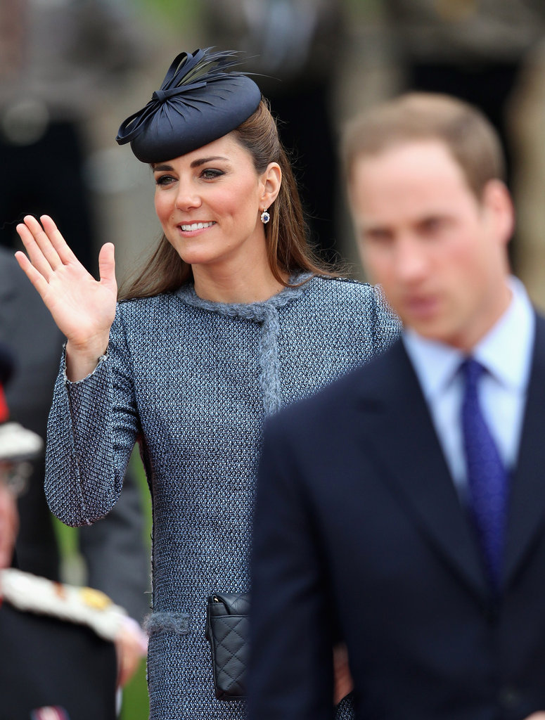 Kate, William, And Queen Elizabeth Make An Early Jubilee Stop