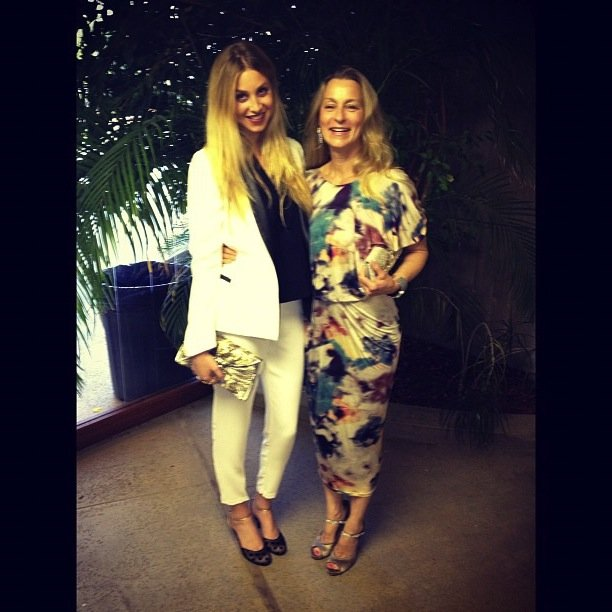 Whitney Port spent a sweet day hanging out with her mom. Source: Instagram user whitneyeveport