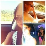 Selena Gomez embarked on a road trip with friends. Source: Facebook user Selena Gomez