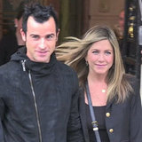 Video: Jennifer Aniston And Justin Theroux's Romantic Night Out In Paris