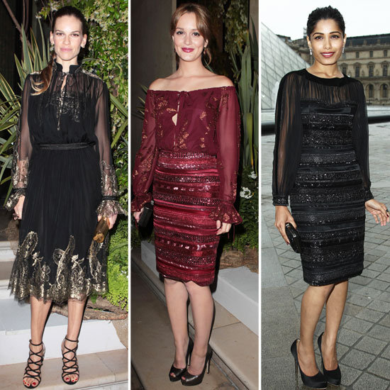 Hilary, Leighton, and Freida Dazzle at Ferragamo's Resort Show at the Prestigious Louvre