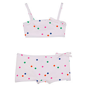 Petit Bateau Two-Piece Polka-Dot Swimsuit ($68)