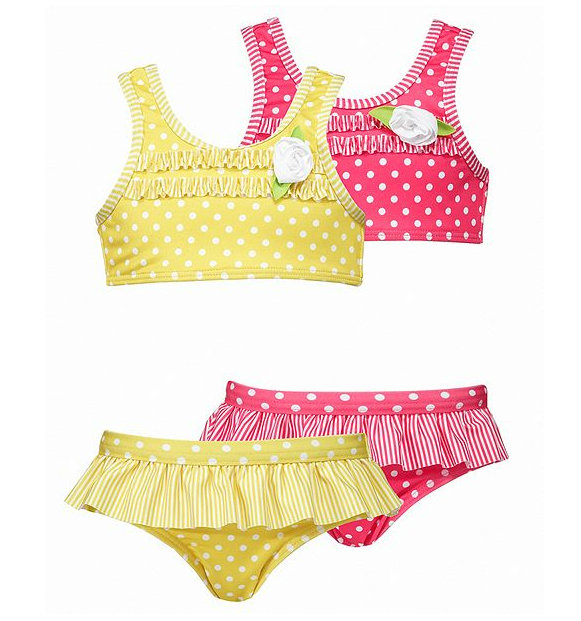 Penelope Mack Little Girls Polka-Dot Two-Piece ($21, originally $30)
