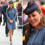 Kate Middleton Rewears Missoni Coat Rachel Trevor-Morgan Hat