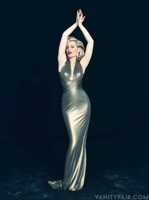 Elizabeth Banks Channels Marilyn Monroe For Vanity Fair
