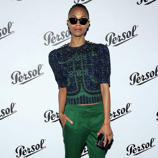 Celebrities Wearing Green Pants