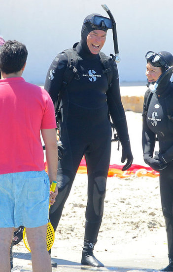 Suited Up For a Scuba Dive