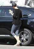 Charlize Theron ran a few errands in LA.