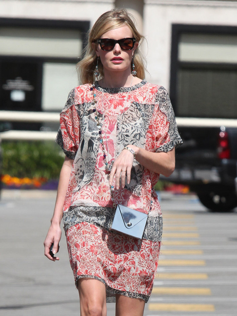 Kate Bosworth went for an LA walk.