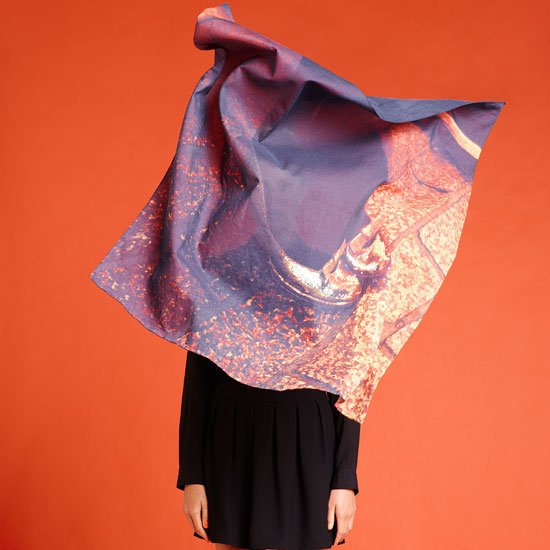 Fab Collab: Tempes de Reves Adrian Mesko Photo-Print Scarves for Sportsgirl