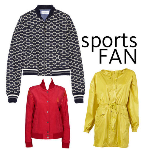 Currently Trending: Sports Inspired Jackets. Shop the Best Anoraks, Parkas and Bombers Online from Insight, Sportsgirl & More!