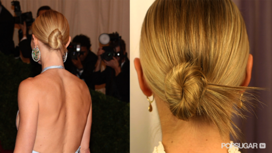 Gwyneth's Hair Stylist Shows How to Recreate Her Sleek Met Gala Bun