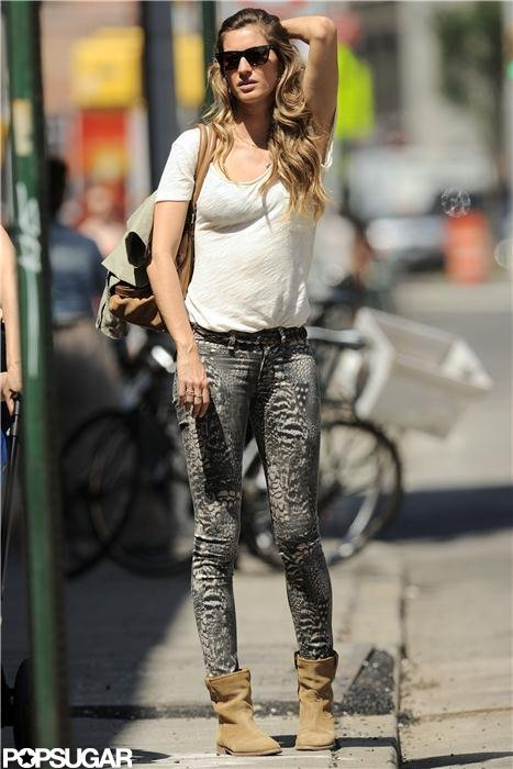 Gisele Bundchen hit the streets of NYC.