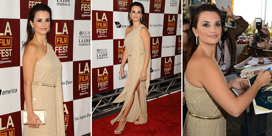 Penelope Takes To Rome With Love to LA For a Premiere