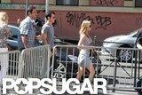 Jennifer Aniston and Justin Theroux explored Rome.