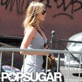Jennifer Aniston went on a Rome vacation.
