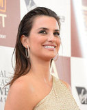 Penelope Cruz showed a smile at the premiere of To Rome With Love in LA.